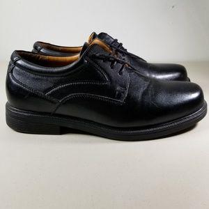 Mens Freeman Langley Oxfords Black Size 12 M